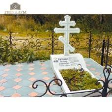 Памятник из белого мрамора № 7 — ritualum.ru